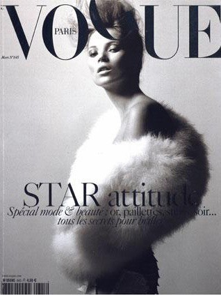 La couverture du Vogue France en Mars 2004 !