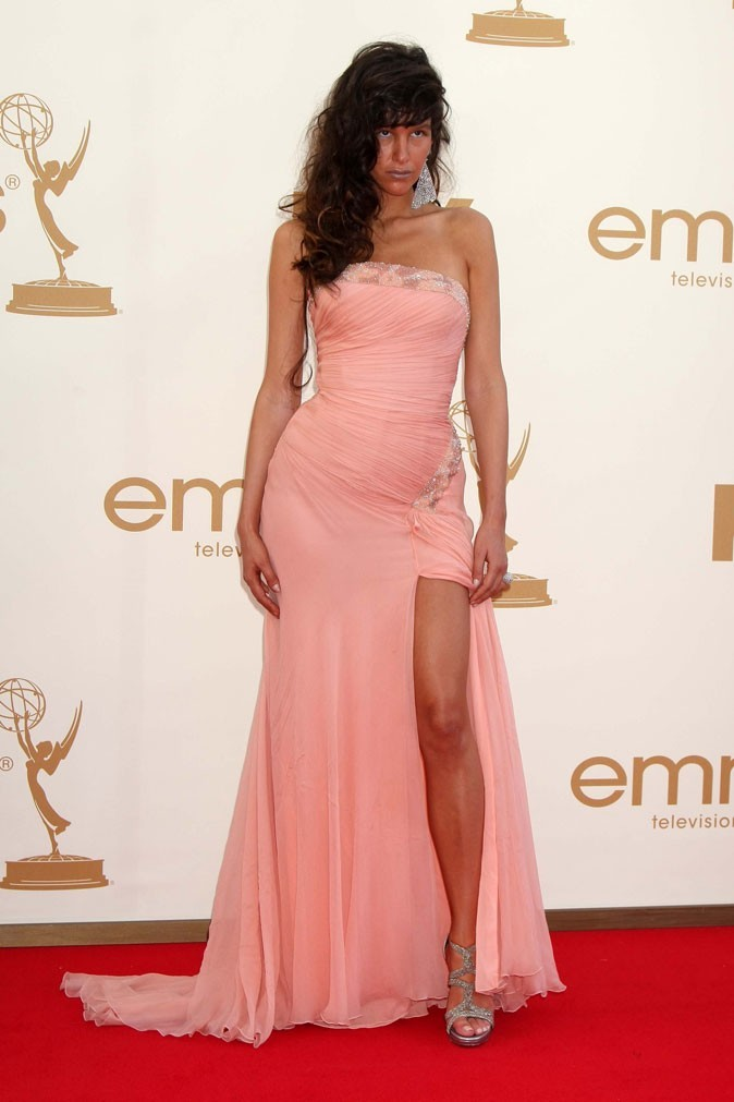 Tendance princesse : la robe drape en voile rose de Paz de la Huerta (Boardwalk Empire) !