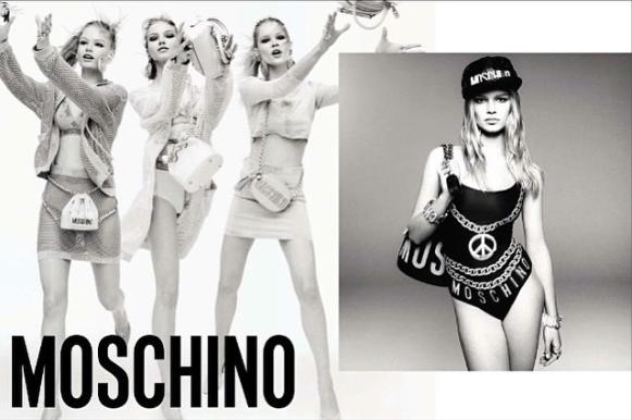 Collection printemps 2015 de Moschino