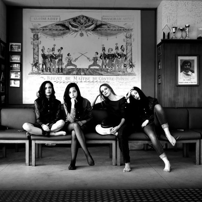 Lio et ses filles pour Thomsen-Paris !