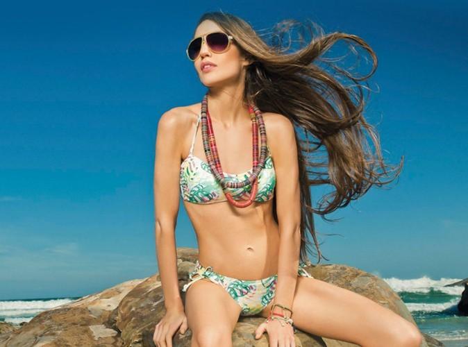 Lizzy Jagger en bikini pour Skiny dans un décor paradisique !