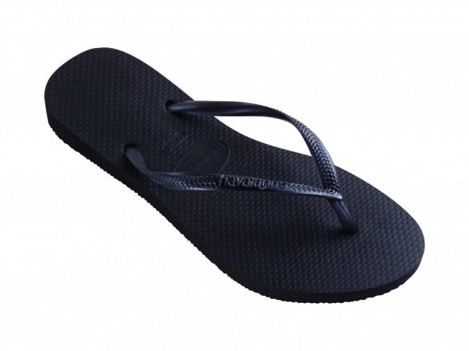 Tongs Slim noires, Havaianas 26 €