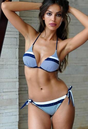 Madalina Diana Ghenea, l'ex du beau Leonardo DiCaprio pose en bikini pour Grimaldi Mare !