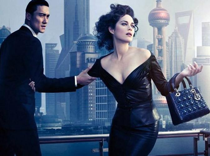 Marion Cotillard en cuir pour Lady Dior !