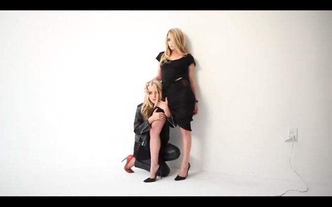 Les Olsen en mode glam-rock !