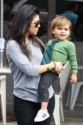 Kourtney et Mason