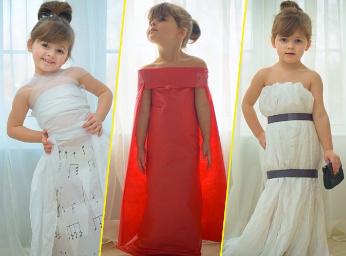 Découvrez les robes de stars reproduites par la petite Mayhem !