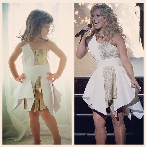 La robe de Mayhem VS la robe de Kimberly Perry !