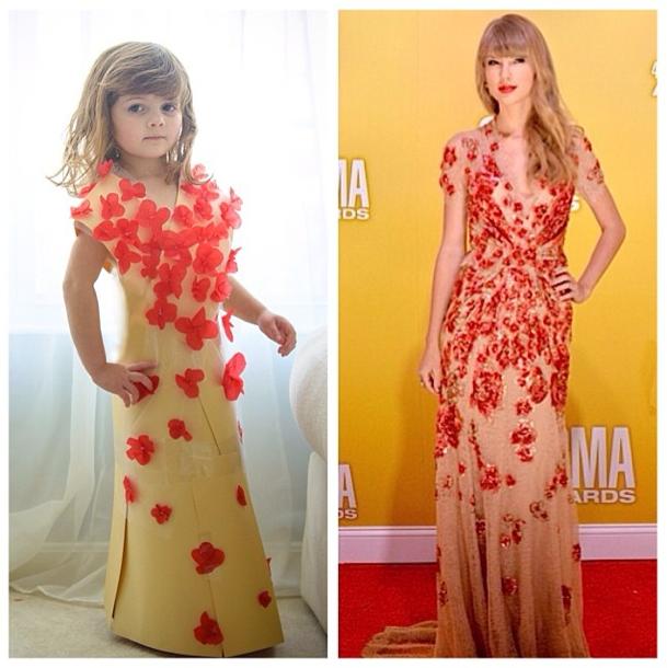 La robe de Mayhem VS la robe de Taylor Swift !
