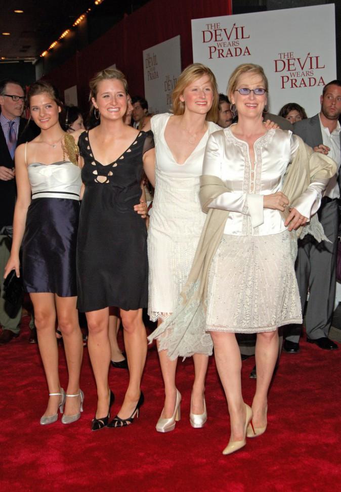 Meryl Streep et ses trois filles !