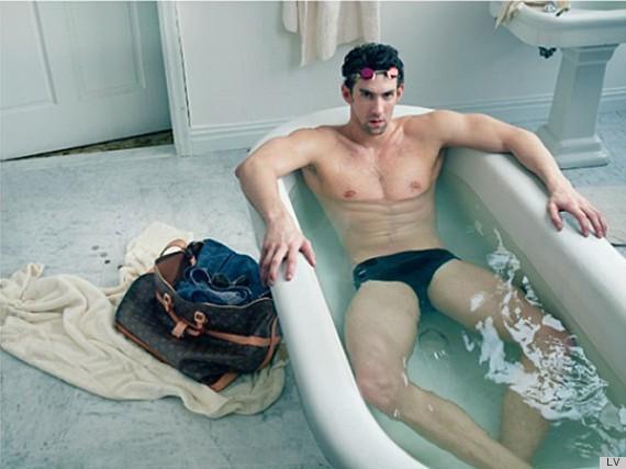 Michael Phelps pour Louis Vuitton