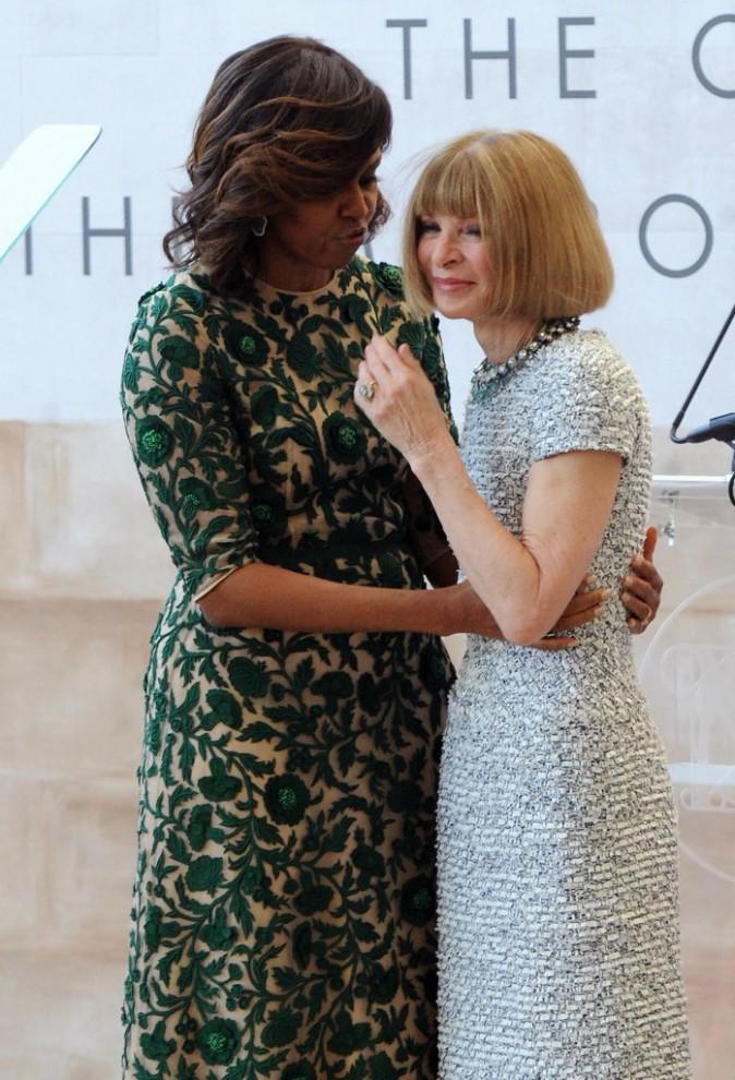 Avant de se blottir dans les bras de Michelle Obama