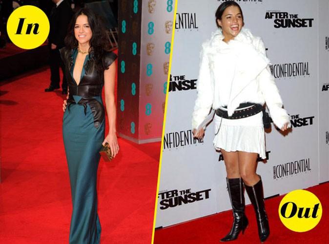 Découvrez le CV fashion in/out de Michelle Rodriguez !