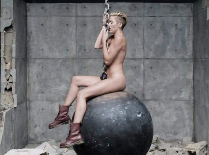 Miley Cyrus, plus confiante quand elle est nue ?