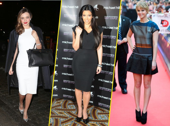 Mode : Miranda Kerr, Kim Kardashian, Jennifer Lawrence... : toutes ces stars qui s'habillent en Victoria Beckham !