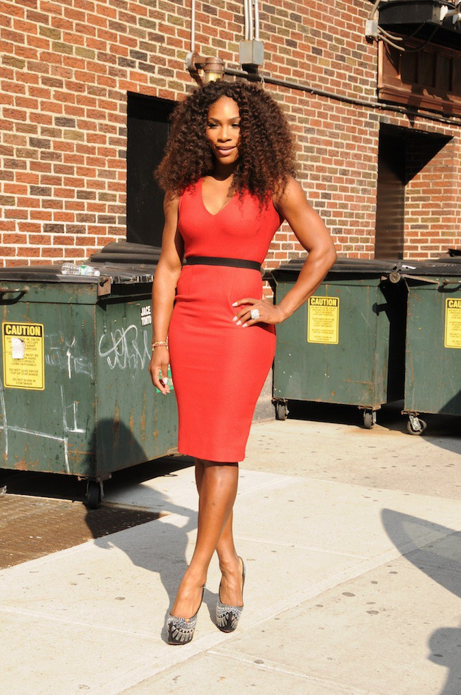 Serena Williams en Victoria Beckham