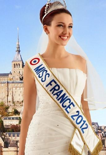 Miss France 2012 : égérie en robe de mariée pour Complicité !