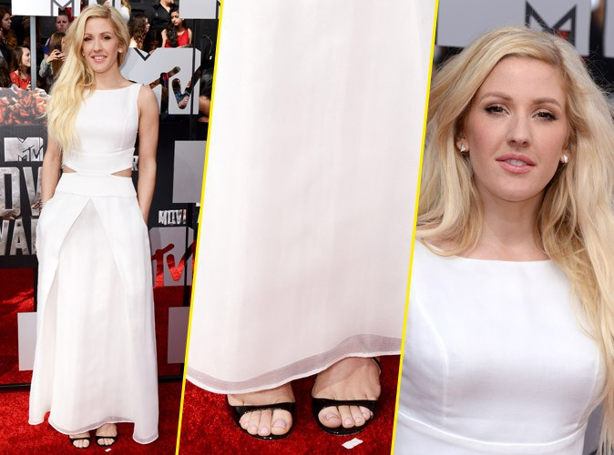 Ellie Goulding était l'ange des MTV Movie Awards 2014