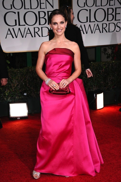 Natalie Portman le 15 janvier 2012