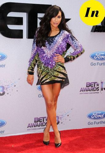 Naya Rivera : découvrez le CV fashion in et out de l'actrice de Glee !