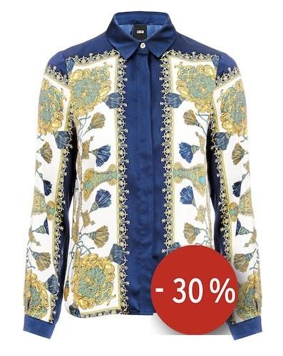 Chemise avec imprimé style foulard sur asos.com