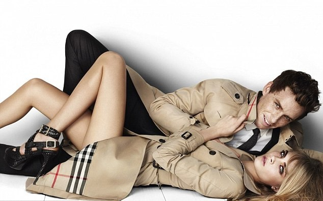 Nouvelle campagne Burberry !