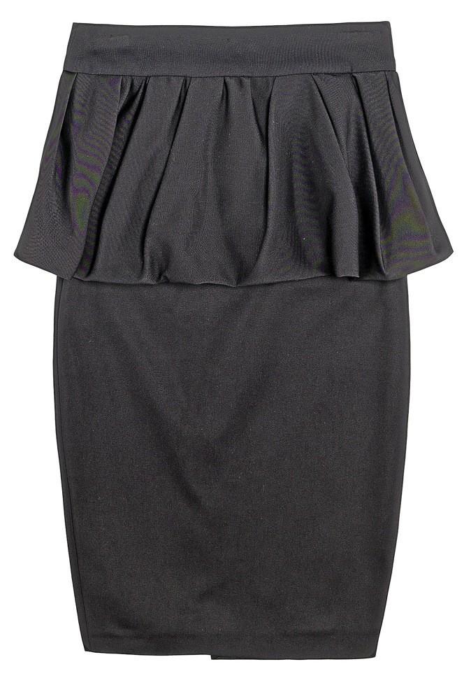 Jupe en coton, Zara. 59 €