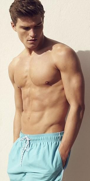 Oliver Cheshire pour la collection de maillots de bain 2012 Marks & Spencer