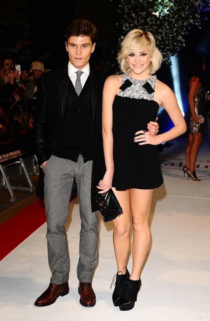 Pixie Lott et Oliver Cheshire : un joli couple