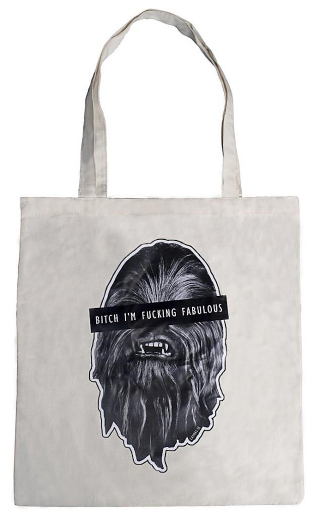 Cabas Chewbacca sur fatmas.se 15 €