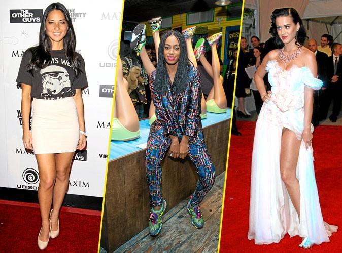 Mode : Olivia Munn, Solange Knowles, Katy Perry : la mode contre-attaque !