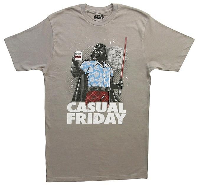 T-shirt Dark Vador, sur shirts.com 11 €