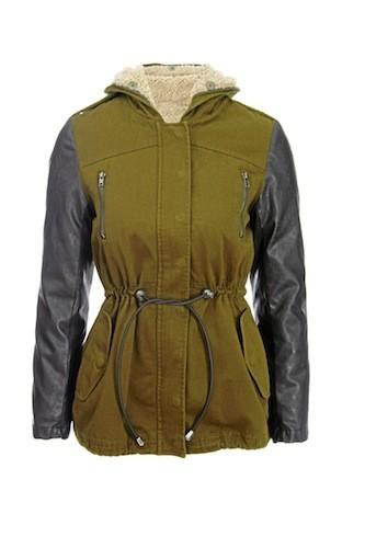 Parka bimatière style militaire, Asos 68 €