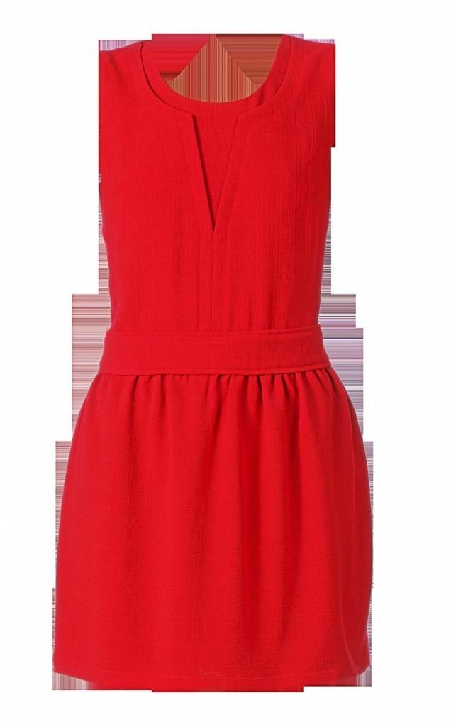 Robe en crêpe rouge, Nancy, By MonShowroom, 59€