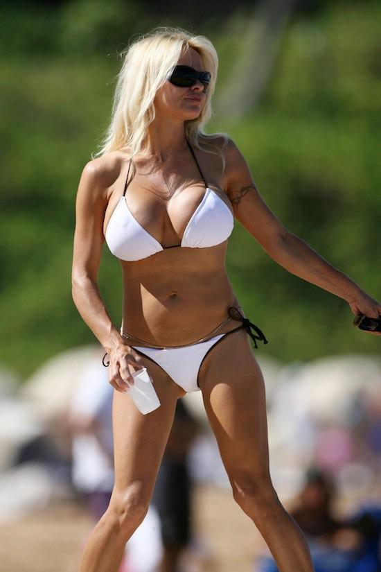 Pamela Anderson en 2007