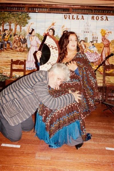 Pedro Almodóvar et Angela Mussoni forment un couplé décalé pour Mussoni