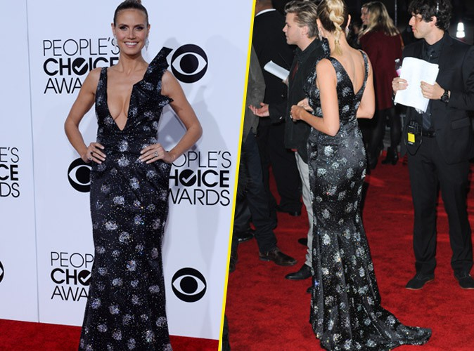 Heidi Klum en Giorgio Armani : Too much ?