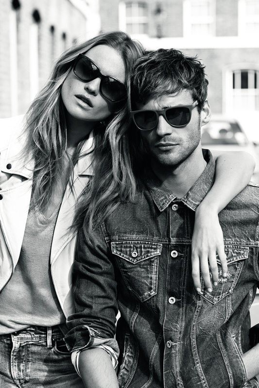 Behati Prinsloo pour Peppe Jeans