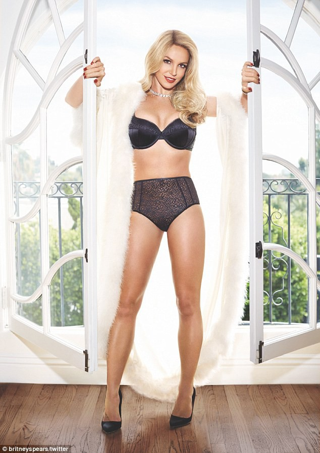 Mode : Photos : Britney Spears : Les photos renversantes de sa collection Intimates !