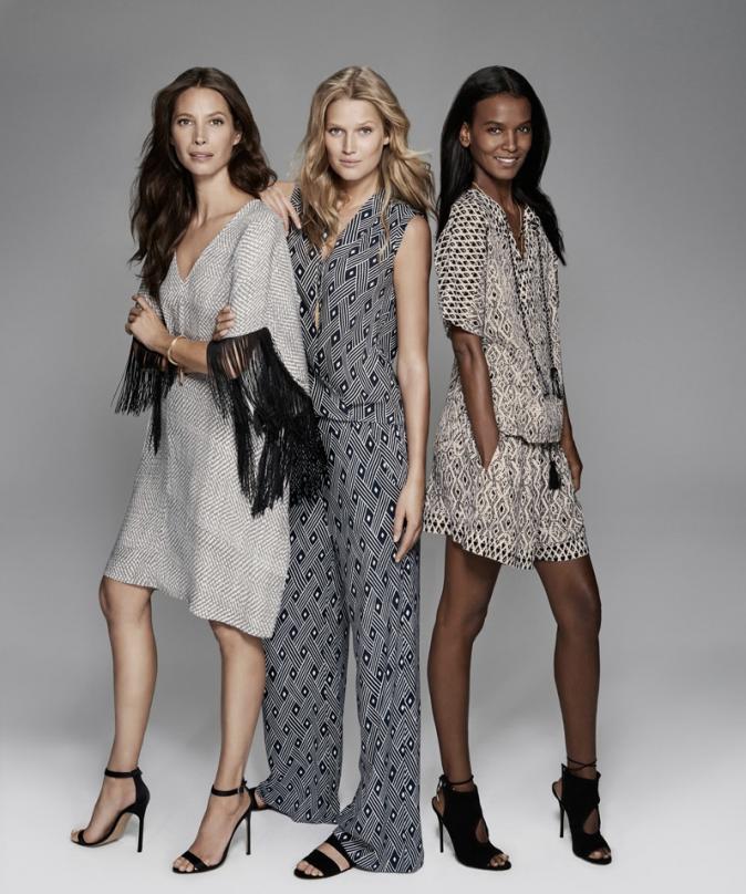 Mode : Photos : Christy Turlington, Toni Garrn et Liya Kebede : Un shooting bohème-chic pour la marque Lindex !