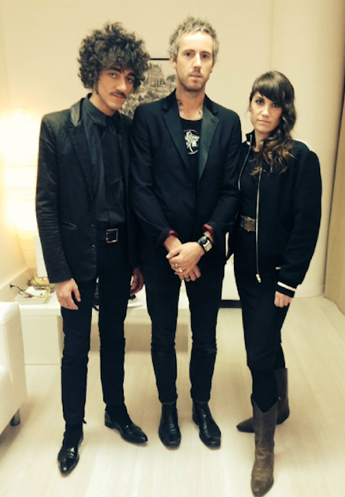 The Avener and Phoebe Kildeer and The Short Straws au défilé Etam 2015