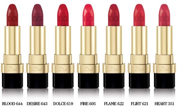 """Mode : Photos : Dolce & Gabbana : La marque lance """"Dolce Matte"""", une nouvelle gamme de rouge à lèvres mat !"""