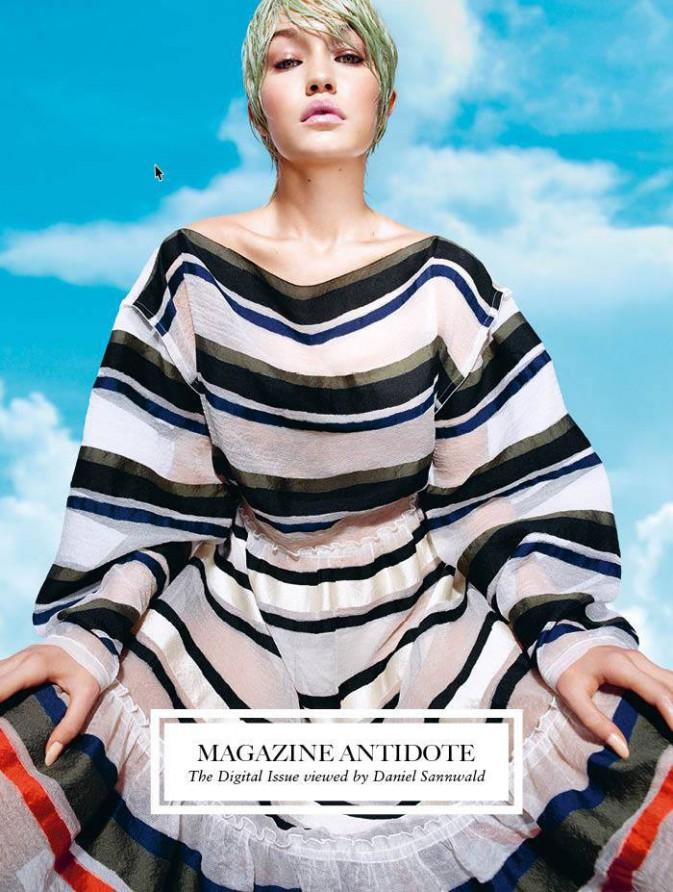 Mode : Photos : Emily Ratajkowski, Gigi Hadid, Liu Wen, Sasha Luss... toutes en couverture d'Antidote Magazine !