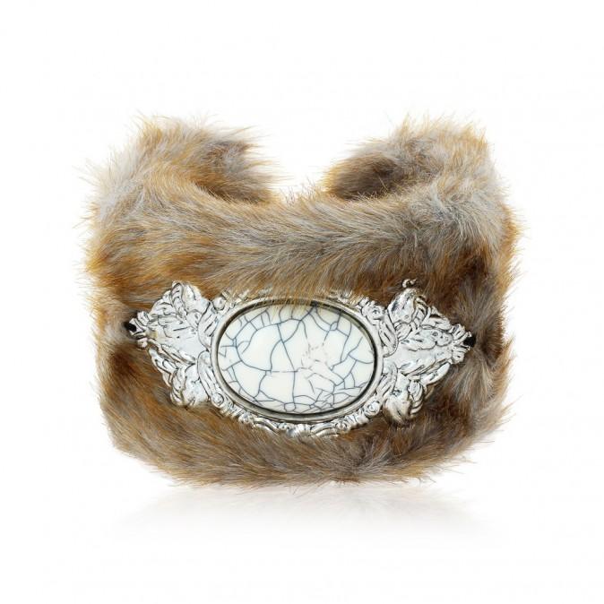 Bracelet fausse fourrure, Fashionvictime 30 €