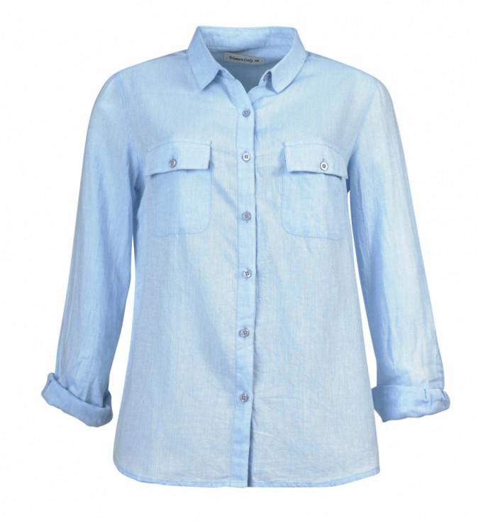 Ses must-have : la chemise denim (Tati 14,99€)