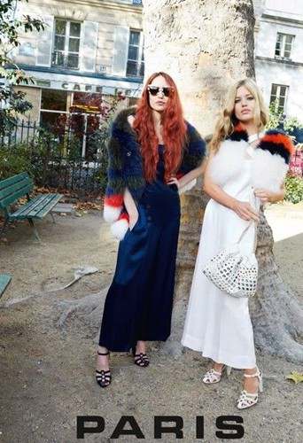 Mode : Photos : Georgia May et Lizzy Jagger : Sonia Rykiel s'offre deux soeurs pour sa campagne !