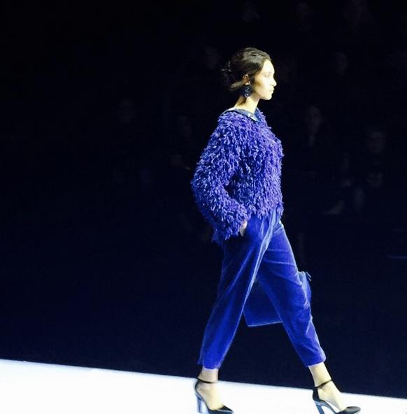 "Mode : Photos : Giorgio Armani : Il présente sa nouvelle collection ""New Normal"" lors de la Fashion Week de Milan!"