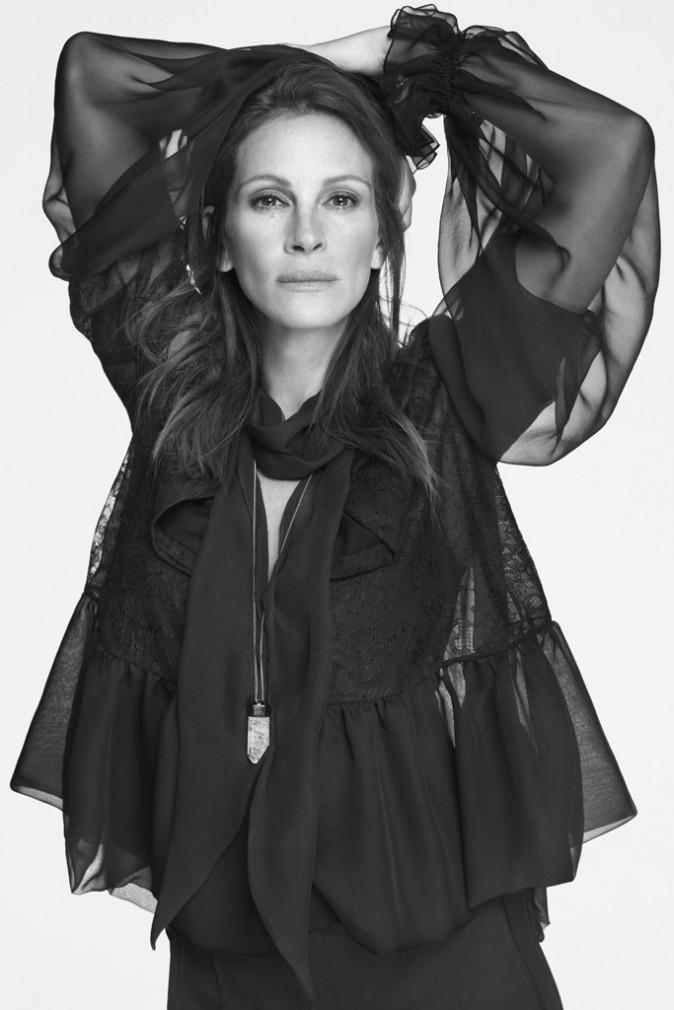 Mode : Photos : Julia Roberts : découvrez-la en égérie envoûtante et masculine pour Givenchy !
