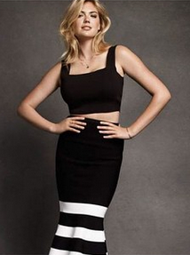 Mode : Photos : Kate Upton : Covergirl sensuelle en look all in black pour The Edit !