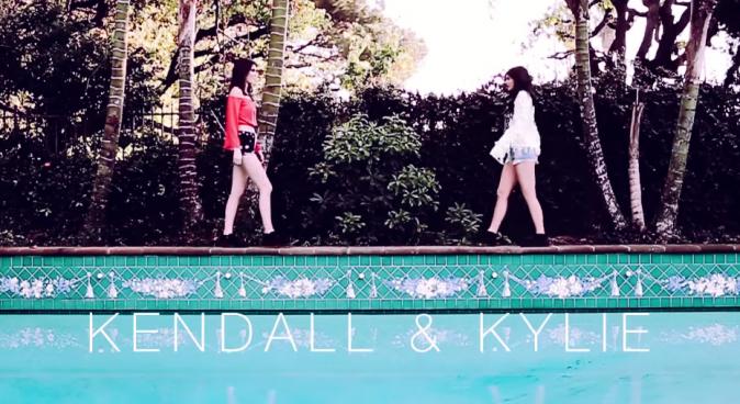 Mode : Photos : Kendall et Kylie Jenner : elles dévoilent une mystérieuse vidéo pour PacSun !